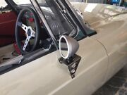 Mgb Roadster Or Gt Race Type Door Mirror Historic Competition Style Stainless