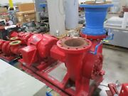 Bell And Gossett 10x10x13 Pump Vsc 11.500 Bf Lhr 1950gpm 100hp 125ft Head Used