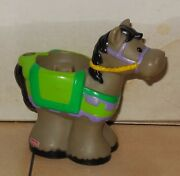 Fisher Price Current Little People Castle Horse 2 Fplp Rare Vhtf