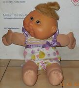 2004 Play Along Cabbage Patch Kids Plush Toy Doll Cpk Xavier Roberts Oaa 2