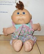 2004 Play Along Cabbage Patch Kids Plush Toy Doll Cpk Xavier Roberts Oaa