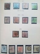 Denmark Collection 1853-1978 On Quadrille Pages Elbe Binder Scott 4332.00