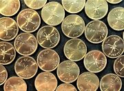 Wholesale 200 Oman Km 66 Unc Coins Of Ah 1400 / 1980 Last Issued 1/4 Rial