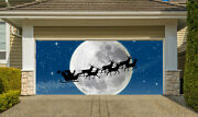 Christmas Garage Door Covers 3d Banners Outside House Decor Billboard G41