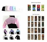 Posma Cs5111 6 Pairs Cooling Arm Sleeves Cover Uv Sun Protection Sports Stretch