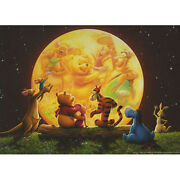Winnie The Pooh And Friends In The Sunset 5d Diy Diamond Painting
