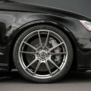 21 Hre Ff04 Silver Concave Forged Wheels Rims Fits Audi C6 A6 S6