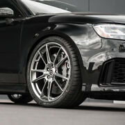 21 Hre Ff04 Silver Concave Forged Wheels Rims Fits Audi A7 S7