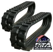 Two Rubber Tracks Fits Terex Tc35 300x52.5x80 Free Shipping