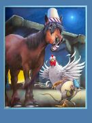 Bruce Eagle Children's Book Illustration Painting Max The Rat