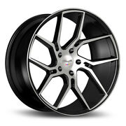 22 Gianelle Dilijan Machined Concave Wheels Rims Fits Infiniti Fx