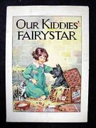 Barbara Spurr 1930's Childrens Book Cover Painting Our Kiddies' Fairy Star