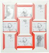 Sood Lamination And Framing Works Fibre Photo Collage9photos 56 Cm X 61 Cm Red