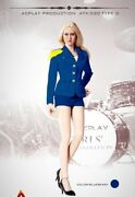 Acplay 16 Lady Girls' Generation Uniform Blue For Phicen, Very Cool Figure 30d