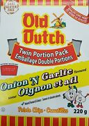 Old Dutch Potato Chips, Onion And Garlic, 220g/7.8 Oz., {imported From Canada}