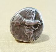 Elis Olympia 440-430 Bc Ar Eagle / Nike Seated Very Rare Great Obv