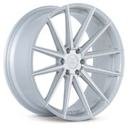 24 Ferrada Ft1 Silver Concave Wheels Rims Fits Ford Raptor - Set Of 4