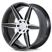24 Ferrada Ft2 Machined Concave Wheels Rims Fits Ford F-150