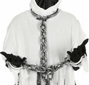 Neck And Hands Shackles Prisoner Chains Ball And Chain Fancy Dress Party Accessory