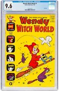 Wendy Witch World 1 Cgc 9.6 Harvey 1961 Giant Size Nm+ New Case H9 113 Cm