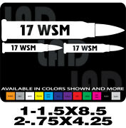 17 Wsm Ammo Can Labels Gun Decals Henry Ruger Marlin Savage Browning