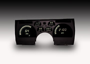 1991-1992 Camaro Digital Dash Panel Direct Fit Gauges White Leds Made In The Usa