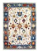 Super Area Rugs Persian Overdyed Vintage Traditional Distressed Rug In Ivory