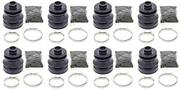 Complete Front And Rear Inner And Outer Cv Boot Repair Kit For Arctic Cat 550 Efi 4x
