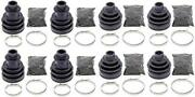 Complete Front And Rear Inner And Outer Cv Boot Repair Kit For Cf-moto Z6 Terracross
