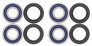 All Balls All Bearing Kit For Front Wheels Fit Honda Trx250te Recon 2002-2016