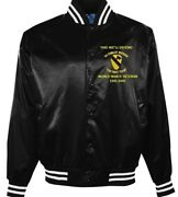 1st Cavalry Division Ww Ii Veteran First Team Embroidered 1-sided Satin Jacket