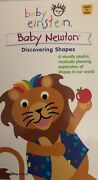 Baby Einstein Baby Newton-discovering Shapes Vhs 2002 Disney-rare Vintage-ship24