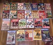 Western Roundup Comics Full Set 1-25 2500 Pages Great Gift Free Ship World