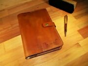 2021 Personalized Custom Handmade Diary. Leather Cover. With Book . Journal