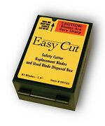6 Boxes Of Easy Cut Safety Box Cutter Knife Replacement Blades 81 Ea/bx Easycut
