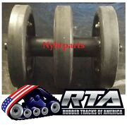 One 14 Idler Group With Duroforce Rubber Wheels Fits Cat 277 277b 2616300