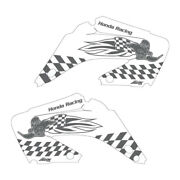 Cr125 Cr250 02-12 Woody Shroud Graphics White Highlight Free Shipping