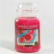 Yankee Candle - World Journeys - Rose Of Morocco - 22 Oz - Very Rare