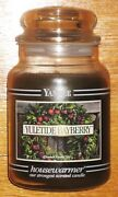 Yankee Candle - 22 Oz - Yuletide Bayberry - Black Band - Rare And Hard To Find