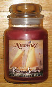 Yankee Candle - Newport Bellevue Seaberry - 22 Oz - Rare And Hard To Find