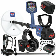 Minelab Gpz 7000 Gold Detector Holiday Bundle Extra Li-ion Rechargeable Battery