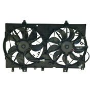 For Nissan Rogue 14-18 Dual Radiator Ac Condenser Cooling Fan Assembly Ni3115150