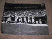 30 X 40 Psa/dna Certified Autographed Poster Of Pete Rose Signed 1st Game 4-8-63