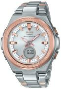 Casio Baby-g G-ms Msg-w200sg-4ajf Tough Solar Multiband 6 Womenand039s Watch New