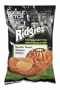 Old Dutch Ridgies Burstin' Onion Chips, One Large Bag, {imported From Canada}
