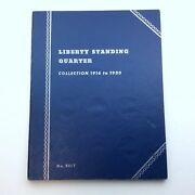 1916 To 1930 Liberty Standing Quarter Whitman No. 9017 Coin Book Collection H334