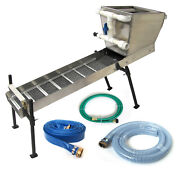 48 Highbanker Kit With Hopper Dredge Box Stand Hoses More - Ships Free