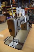 Brother Chandler Db2-b755-3 Industrial Sewing Machine With Table