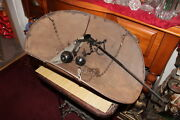 Large Antique Oscar Mayer Scale Scoop Hanging Beam Scale Primitive Country