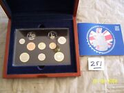 2004 United Kingdom Executive Proof Collection 10 Coins Royal Mint Complete
